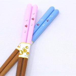 箸 カトラリー 食器 キッチン こども(子供)箸 ドレミ 18cm ブルー(B)/ピンク(P) 箸 お箸 はし おはし 食洗機対応 プレゼント ギフト e-businessnext