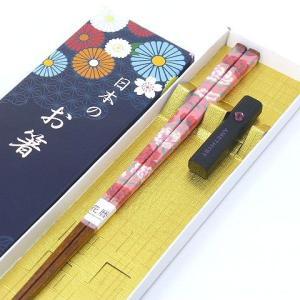 母の日 誕生月箸 お箸 花暦箸 23cm 5月 カーネーション 箸置き 箸 はし おはし すべり止め 誕生日 プレゼント|e-businessnext