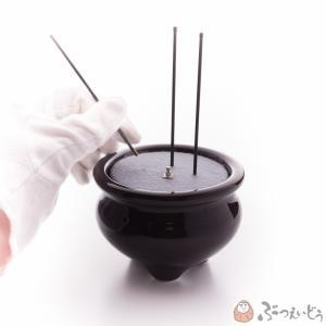仏具・サンやすらぎ 安全便利な電子線香(金/3寸)|e-butsudanya|04