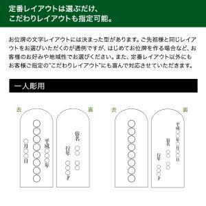 位牌・かなで 純面粉 桜(3.5寸)(文字代込)(送料無料)(品質保証)|e-butsudanya|12