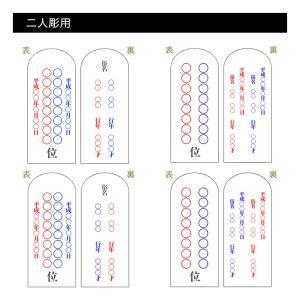 位牌・かなで 純面粉 桜(3.5寸)(文字代込)(送料無料)(品質保証)|e-butsudanya|13