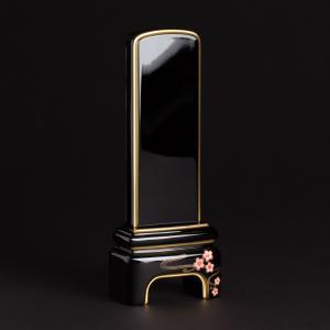 位牌・かなで 純面粉 桜(3.5寸)(文字代込)(送料無料)(品質保証)|e-butsudanya|05