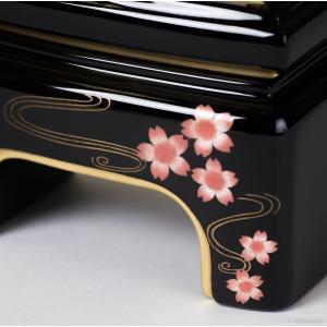 位牌・かなで 純面粉 桜(4.5寸)(文字代込)(送料無料)(品質保証)|e-butsudanya|02