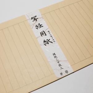 経本・写経用紙 般若心経手本付き 20枚入り e-butsudanya