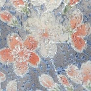 手元供養 骨壷 有田焼 雅桜 ブルー 2.3寸|e-butsudanya|04
