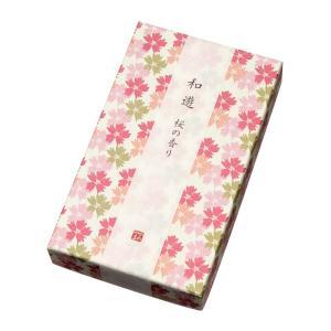 線香・お香・和遊 平箱(桜の香り)|e-butsudanya