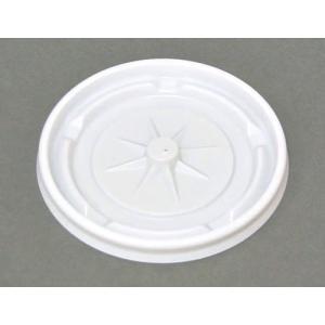 紙コップフタ 日本デキシー リッド7.5オンス 白 ホット用  2,000枚|e-cafe