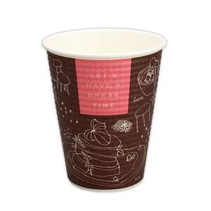 断熱紙コップ トーカン SMP−260Eブレイクタイム本体 1,500個|e-cafe