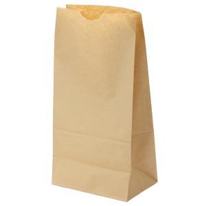 テイクアウト用紙袋 角底袋12号未晒(茶色) 180x108xH352mm 500枚|e-cafe