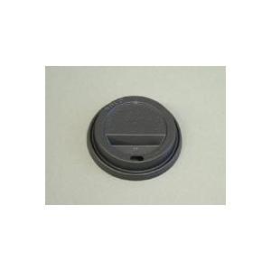 ソロカップSOLO 紙コップフタ トラベラーリッド口径84mm用ブラック TL31B 100枚|e-cafe