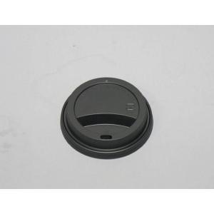 紙コップ蓋 SMT−400 トラベラーリッド 黒 径84mm用 トーカン 100個|e-cafe