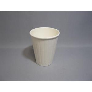 SOLO8オンス ダブルペーパーカップ ホワイト 839W 50個|e-cafe
