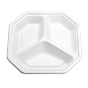 弁当・惣菜容器 BF惣菜4 ホワイト 本体 50個|e-cafe