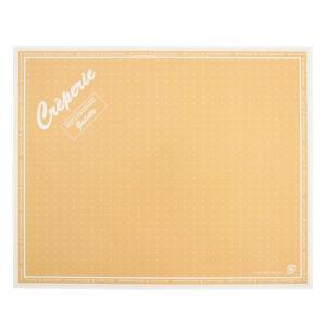 テイクアウト用クレープ包装紙 ドリームズ オレンジ207X255mm 200枚|e-cafe