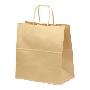 紙手提袋 T−5W 茶無地 260×150×280(mm) 50枚|e-cafe