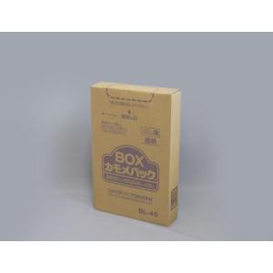 ゴミ袋 BOXカモメ BL−45 透明LD45L 100枚|e-cafe