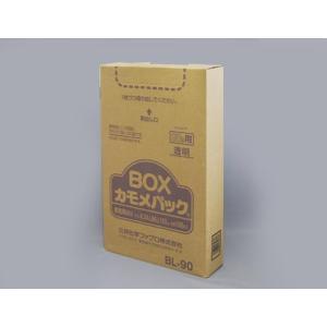 ゴミ袋 BOXカモメ BL−90 透明LD90L 100枚|e-cafe
