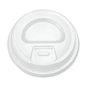 プラスチックカップ蓋 TAPS92φ用ストローレスリッド(プッシュダウン式) 100枚|e-cafe
