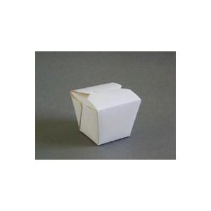 テイクアウト用フードパック フードコンテナ ホワイト  FC-8080 ドギーバッグ25個|e-cafe