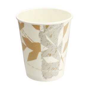 紙コップ 日本デキシー 断熱カップ8オンス ウインズ 50個|e-cafe