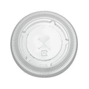 プラスチックカップ蓋 TAPS92F 92Φ用ストローリッド 100枚|e-cafe