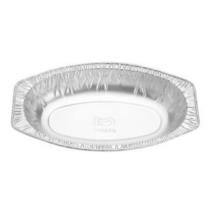 フード容器アルミグラタン皿 ダイヤOV-1826FC(舟形)本体 1,000枚|e-cafe