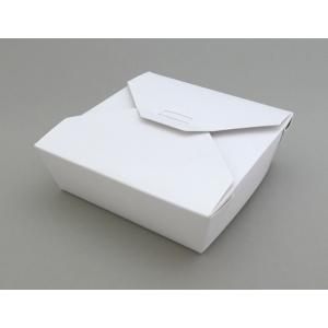 テイクアウトBOX Sタイプ N-100S 白 50個|e-cafe