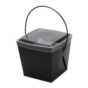 テイクアウト用 デリメイトTK125 カンゴウ容器付 ブラック 20個|e-cafe