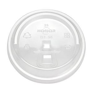 プラスチックカップ蓋 HONOR φ98 PEダイレクトリッド DT-98 50個|e-cafe