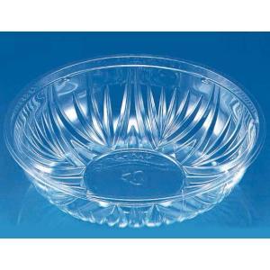 テイクアウト用プラスチック容器 リス クリーンボール M大 本体 透明  50個|e-cafe