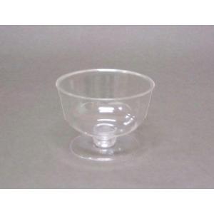 プラスチックデザートカップ   プロマックス BI-250AC  台座付き  50個セッ|e-cafe