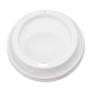 紙コップフタ トーカン SMP−260E−F ドリンキングリッド白  50個 e-cafe