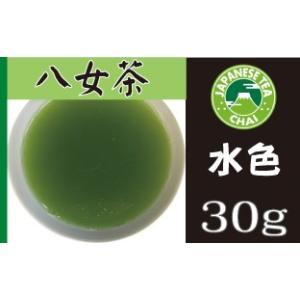 日本茶専門店の煎茶「クマさんの八女茶(やめちゃ)」(30g)|e-chai