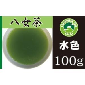 日本茶専門店の煎茶「八女茶(やめちゃ)」(100g)|e-chai