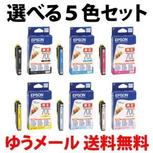 〔選べる5色セット・ゆうメール〕 エプソン 純...の関連商品2