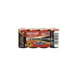 期限切れ マクセル アルカリ乾電池 単2 4本(シュリンクパック) LR14(T)4P e-choix
