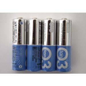 アルカリ乾電池 単3 4本(シュリンクパック) 安心のソニー製造! e-choix