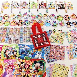 ディズニーツムツム・ディズニー文具色々150個セット、XMASギフトフレンドバック50枚付|e-christmas