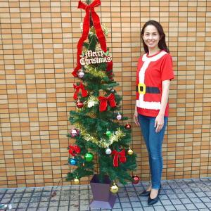 クリスマス装飾 クリスマスツリーセット スクェアポット付 180cm(オーナメント付) / ディスプレイ 飾り|e-christmas