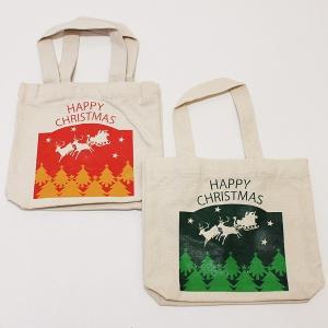 クリスマスプレゼントギフト用 XMASトートバッグの販売 1枚200円×50枚 e-christmas