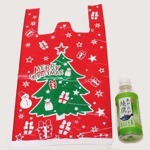 クリスマスプレゼントギフト用 XMASプレゼントポリ袋の販売 1枚25円×100枚 e-christmas