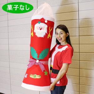 お菓子なし(ブーツ長100cm) クリスマスウルトラジャンボサンタブーツ|e-christmas