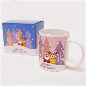 ハッピークリスマスマグカップH9.5cm 60個 e-christmas