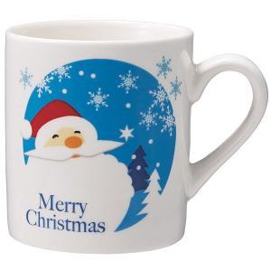 サンタマグカップ 高さ8cm 40個 / クリスマス 景品 e-christmas