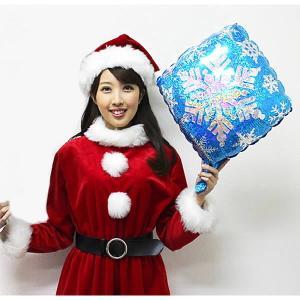 クリスマス装飾風船 スノーフレーク 【バルーン・ディスプレイ・飾り】|e-christmas