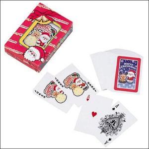 紙ケース サンタトランプ(50個)|e-christmas