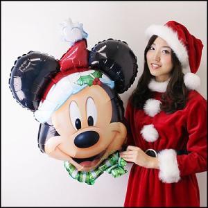 クリスマス装飾風船 ミッキークリスマス 【バルーン・ディスプレイ・飾り】|e-christmas