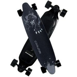 電動 スケートボード Cool&Fun HB10 スケボー 電動 リモコン付き 誕生日 プレゼント ...