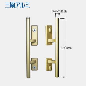 U9シリンダー 鍵穴付き 三協アルミ 玄関ドア MIWA PE-02 + GAS2(GAE2) プッシュプルハンドル錠|e-comebiyori