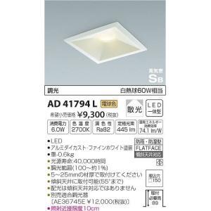 AD41794L コイズミ ダウンライト LED(電球色) e-connect